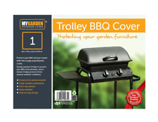 Reinforced Heavy Duty Trolley BBQ Cover Garden Furniture Protector Waterproof