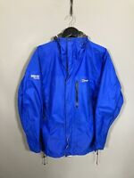 BERGHAUS GORE-TEX PACLITE Jacket - Size Medium - Blue - Great Condition - Mens