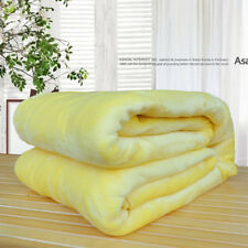 50*70cm Soft Warm Solid Warm Micro Plush Fleece Blanket Throw Rug Sofa Bedding