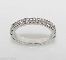 Unbranded Diamond Eternity Round Costume Rings