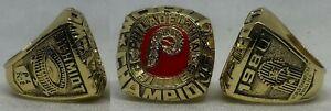 1980 Philadelphia Phillies MLB REPLICA Ring SCHMIDT  Size 11 *SHIPS TODAY*