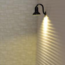 lot 10 Modèle Train Lampadaire HO maquette à LED éclairage mural Lumière R56BL