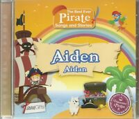 AIDEN - AIDAN THE BEST EVER PIRATE SONGS AND STORIES PERSONALISED CHILDREN'S CD