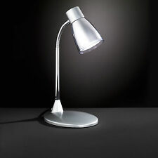WOFI lámpara de MESA Jos 1 Luz Gris Flexarm Interruptor 40 vatios 470 Lumen E14