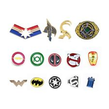 Pins Deadpool Ghostbusters The Flash Batman Captain Marvel Badges Brooch Jewelry