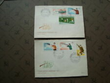 Timbres sports avec 5 timbres