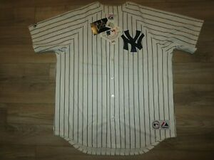 Roger Clemens NEW York Yankees World Series MLB Majestic Jersey XL mens NWT NEW