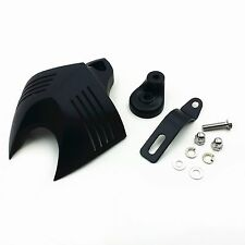 Motor HORN COVER For 92-12 Harley Softail Dyna Glide Big Twin Electra Road King