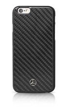 Mercedes-Benz Licenced iPhone 6/6S Plus (MEHCP6LRCABK) Carbon Fiber Case - BLACK