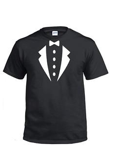 Tuxedo Fancy Dress Kids and Men's T-Shirt