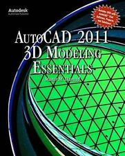 AutoCAD®  2011 3D Modeling Essentials, , Hamad, Munir, Very Good, 2010-09-14,