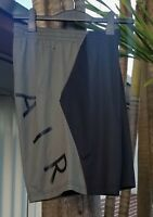 SZ 2XL UNIQUE 🆕🏀🔥 Nike Air Jordan Retro Men's Jumpman Flight Black NBA Shorts