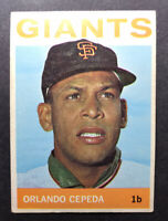 1964 Topps #390 Orlando Cepeda VG/VG-EX HOF San Francisco Giants
