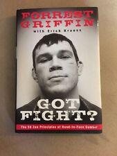 Forrest Griffen Got Fight Book