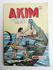 akim - bimensuel n° 648 petit format aout 1986