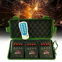 Wireless Fireworks Firing control system equipment+Remote+12x Igniters Hot