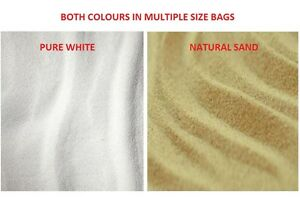Aquarium Sand 4kg 5kg 12.5kg 13kg 25kg Natural or White Fish Tank Substrate