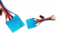 2x Marine 50A Speed Controller ESC water proof for RC brushed motor Racing Boat