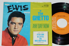 """ELVIS PRESLEY -In The Ghetto / Any Day Now- 7"""" 45  RCA (47-9741)"""