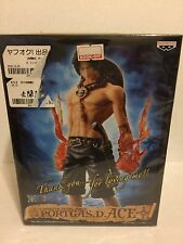 NEW One Piece-Inch Port Gas D Ace Master Stars Piece Figure By Ban presto