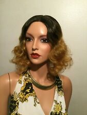 NWT Vanessa 100% Synthetic Heat Wave Golden Blonde Mix Lace Front Wig