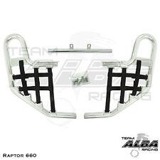 Yamaha Raptor 660 YFM660   Nerf Bars   Alba Racing  Silver Black 203 T1 SB