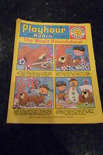 "PLAYHOUR & ROBIN - (1973) - Date 06/01/1973 - Inc ""The Magic Roundabout"""