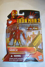 Hasbro 2010 Marvel Movie Iron Man 2 Mark VI Armor Figure MIP Avengers