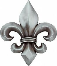 Grey antique finish FLEUR DE LIS metal Belt Buckle French Flower