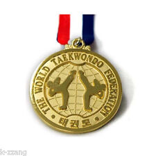 The World TKD Taekwondo Federation Medal Korea sports TKD Martial arts WTF 1ea