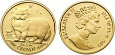 Isle of Man 1989 Persian Cat 1/5 oz Gold Proof Coin
