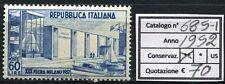 1952 XXX Fiera di Milano - 1 valore NUOVO MNH Repubblica 685