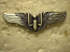 MILITARY HAT PIN- U.S. AIR FORCE WWII GUNNER WINGS