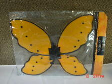 Nwt Costume Butterfly Wings Fairy Child Orange Play Fun