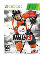 NHL 13 2013 USED SEALED (Microsoft Xbox 360, 2012)