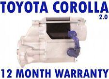 TOYOTA COROLLA COMPACT LIFTBACK (_E10_) 2.0 1992 - 1997 STARTER MOTOR