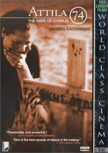 ATTILA 74 THE RAPE OF CYPRUS DVD [GREEK ENGLISH] MICHAEL CACOYANNIS Documentary