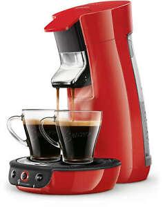 PHILIPS SENSEO Viva Café HD6563/81 Cafetière à dosettes Crema Plus rouge