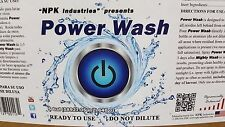 POWER WASH 5 Gallons NPK-Industries Ready to use Leaf and Plant residue remover