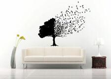 Wall Decal Sticker Bedroom Decor Tree Branch Birds Nature Beautiful Art bo2520