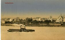 Germany AK Weissenthurm Weißenthurm 56575 - River Front old postcard