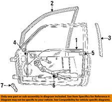 Dodge CHRYSLER OEM 2002 Ram 3500 Front Door-Sash Channel Right 4883358AA