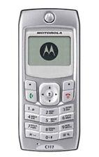 SILVER Motorola c117 Cellulare-Sbloccato con nuova casa chargar e garanzia