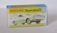Repro Box Matchbox Superfast Nr.53 Ford Zodiac MK IV