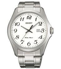 Classico Orologio Date Orient Uomo acciaio White Dial Data Funf2007w0
