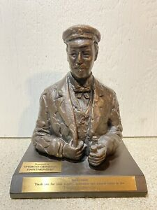 Sir Thomas J. Lipton - Bronze Bust - WEBCO Partnership / Award