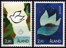 Aland 1995 Europa - Peace and Freedom, Birds - Doves Mnh / Unm