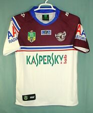 Isc Manly Warringah Sea Eagles Official 2004 Authentic Replica Rugby Jersey Sz M