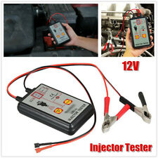 12V Car 4 Pluse Modes Injector Tester Powerful Fuel System Scan Tool Detectors