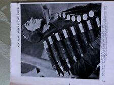 A2k ephemera 1940s ww2 picture h m s illustrious aircraft crew man